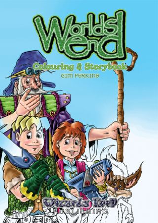 Worlds End Colouring & Storybook © Wizards Keep
