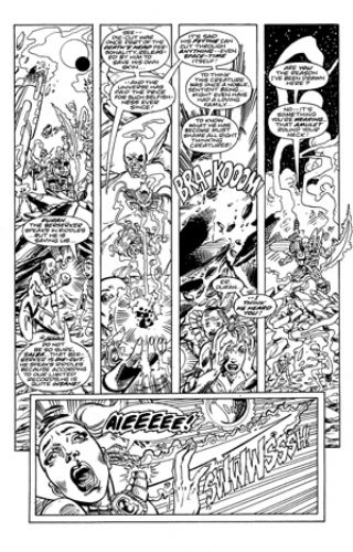 Die Cut vs G-Force Issue 1 Page 3 © Wizards Keep