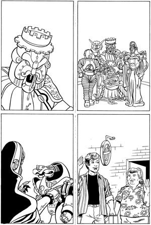 Power Rangers Zeo Issue 3 Page 3 © Wizards Keep