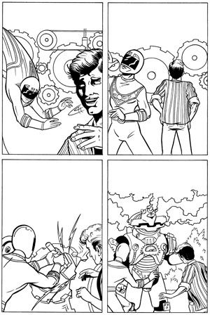 Power Rangers Zeo Issue 3 Page 6 © Wizards Keep