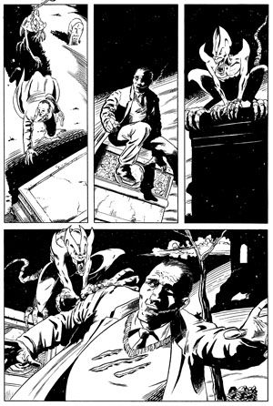 Dark Crusade Issue 1 Page 2.