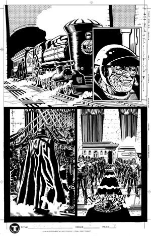 Shadow Death Issue 3 Page 7