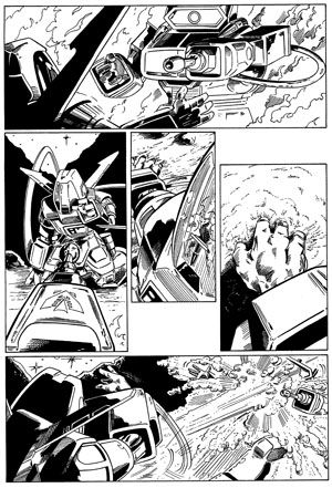 Transformers 01 Barry Kitson & Tim Perkins