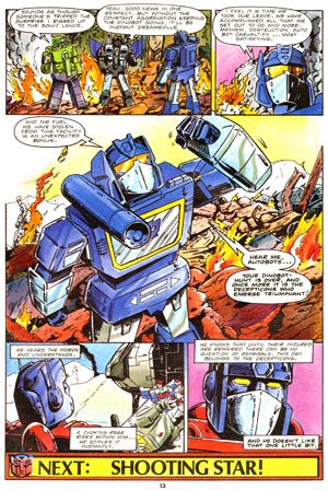 Transformers Issue 50 Page 13