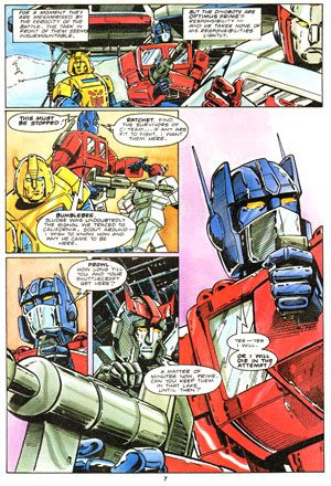 Transformers Issue 50 Page 7