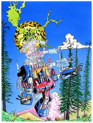 Transformers unused cover
