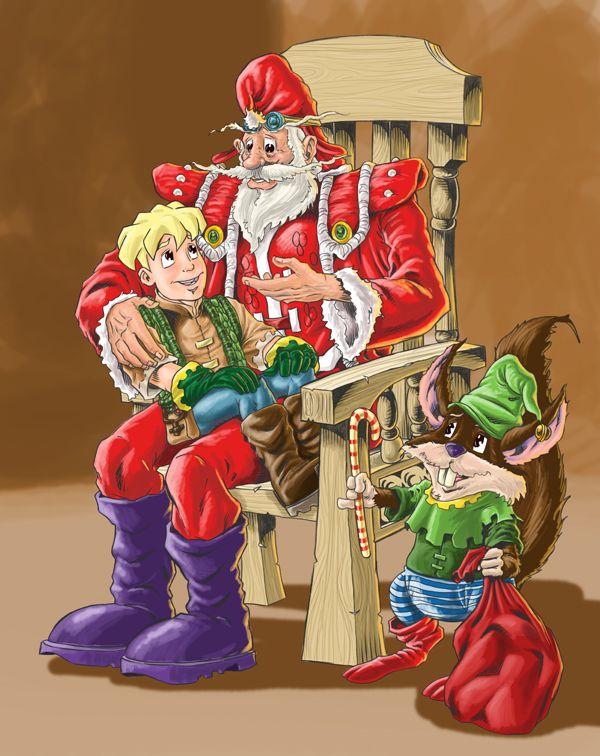 Christmas Wishes Illo 2009
