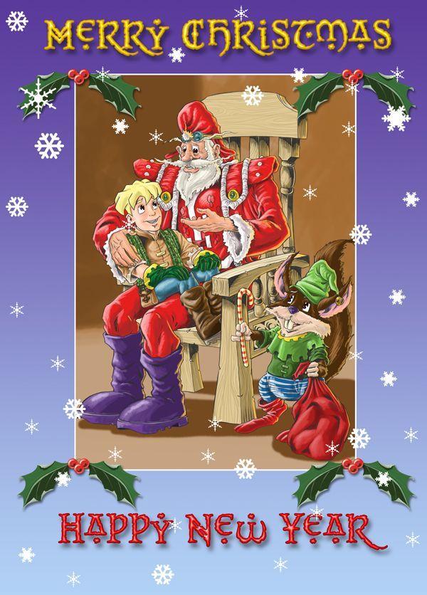 Christmas Wishes Christmas Card 2009