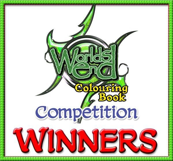 Worlds End Colouring Book Competition Logo
