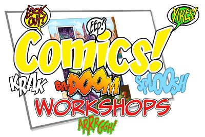 Comics Workshops Logo