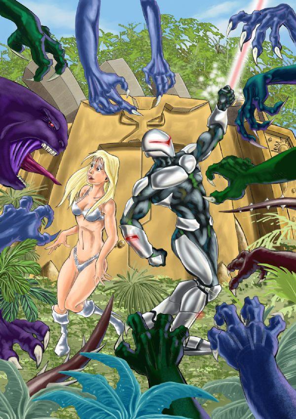 The Golden Lizard Cover Art