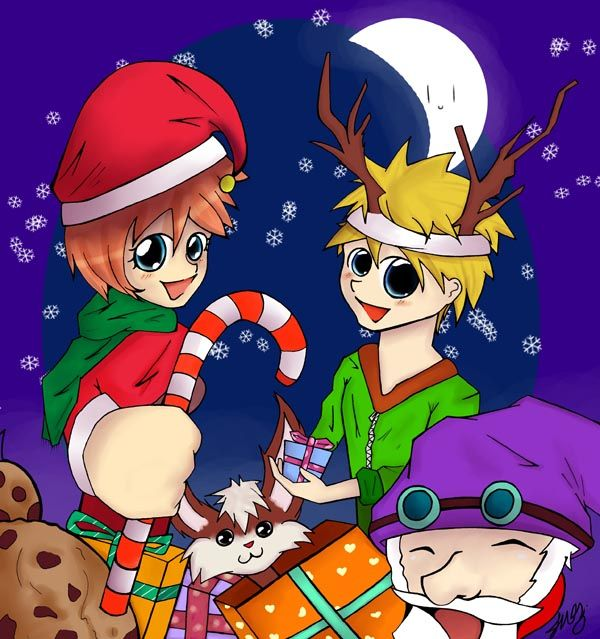 Worlds End Christmas MANGA Competition WINNING ENTRY 2009 600pxls