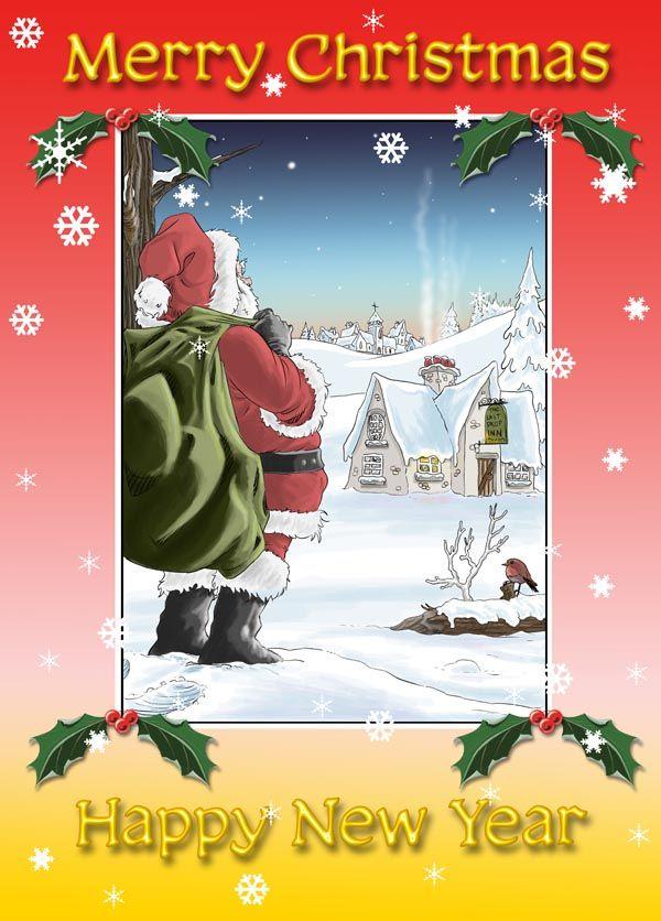 The Last Drop Christmas Card