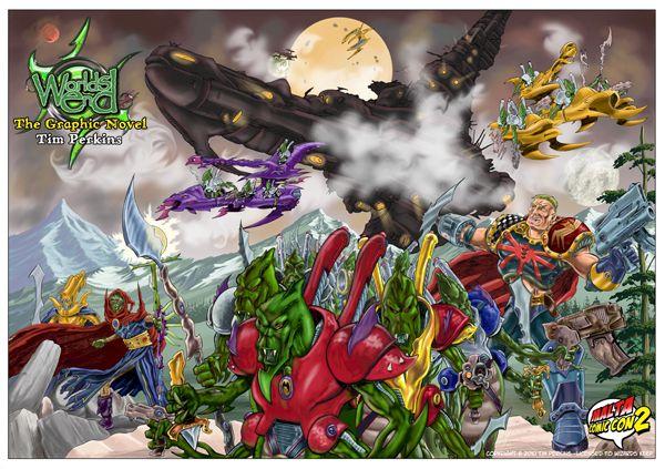 MaltaComicCon2 - Tim Perkins Poster