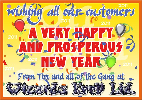 New Year Greeting 2011 Banner
