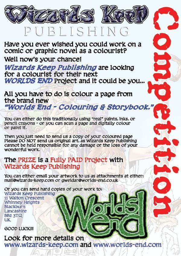WE Competition Flyer