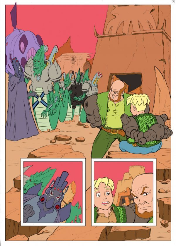 Worlds End Volume 2 Colour Flats Page 2