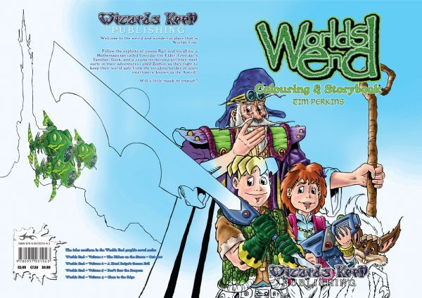 WE Colouring&StoryBook Cover Art