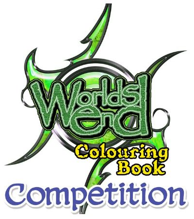 Worlds End Colouring Book Competition Logo for reduction to 400dpi