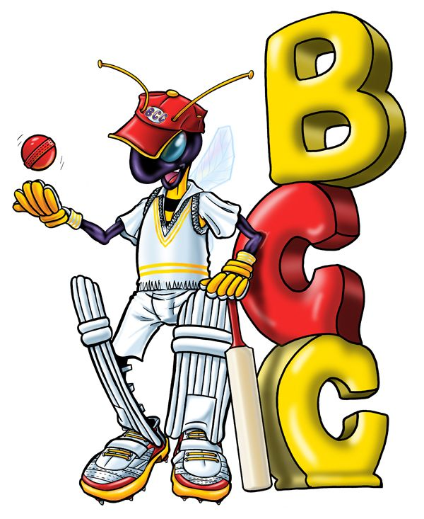 Bees Cricket Club Logo