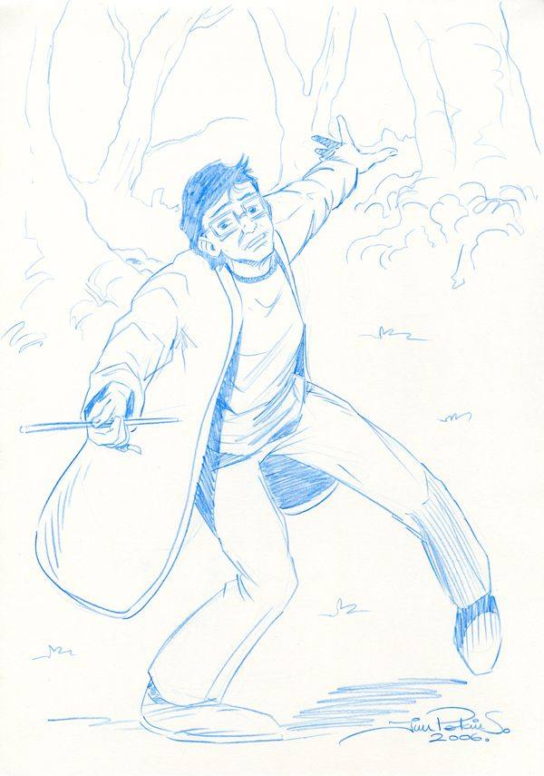 Harry Potter Pencil Sketch 001