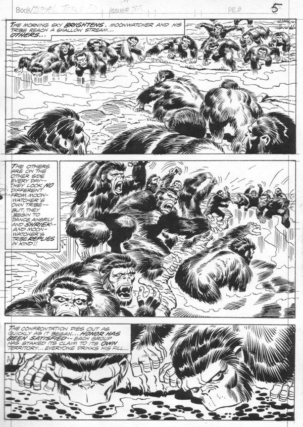 Jack Kirby Art 009