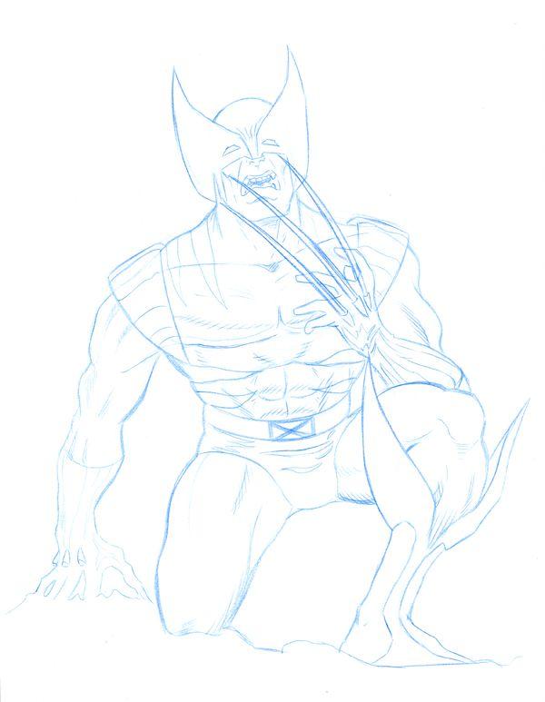 Wolverine Pencil Sketch