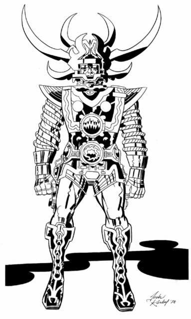 Jack Kirby Art 016