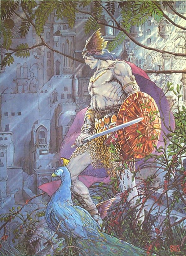 Barry Windsor Smith 015Poster