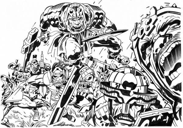 Jack Kirby Art 012
