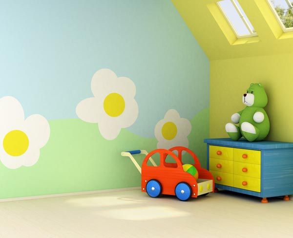 Mural Artz Childs Bedroom Playroom 1