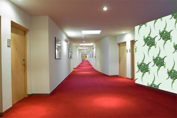 Mural Artz Corporate Corridor 01 after
