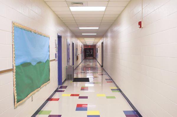 Mural Artz School Corridor