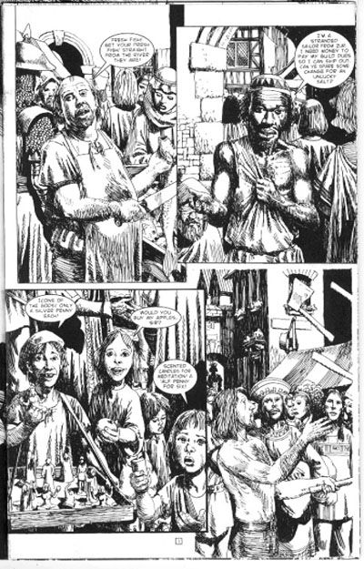 John Ridgway art for Age of Heroes 02