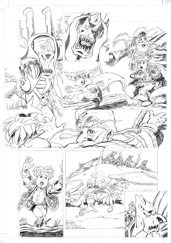 Worlds End Vol 1 Pencils Page 06