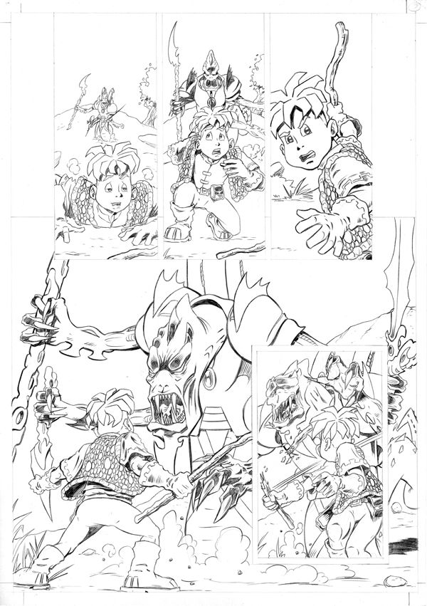 Worlds End Vol 1 Pencils Page 07