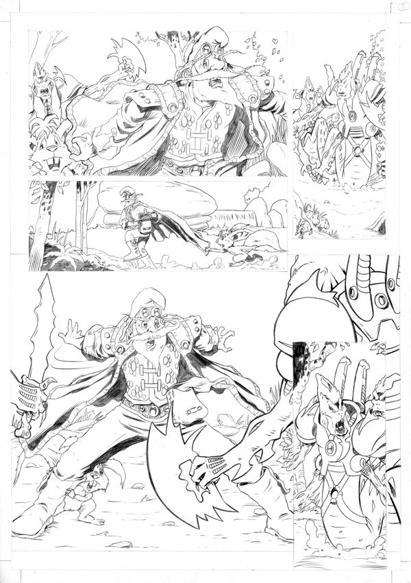 Worlds End Vol 1 Pencils Page 08