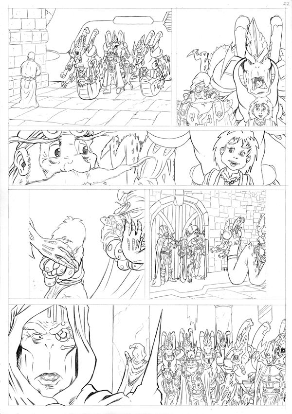 Worlds End Vol 1 Pencils Page 22