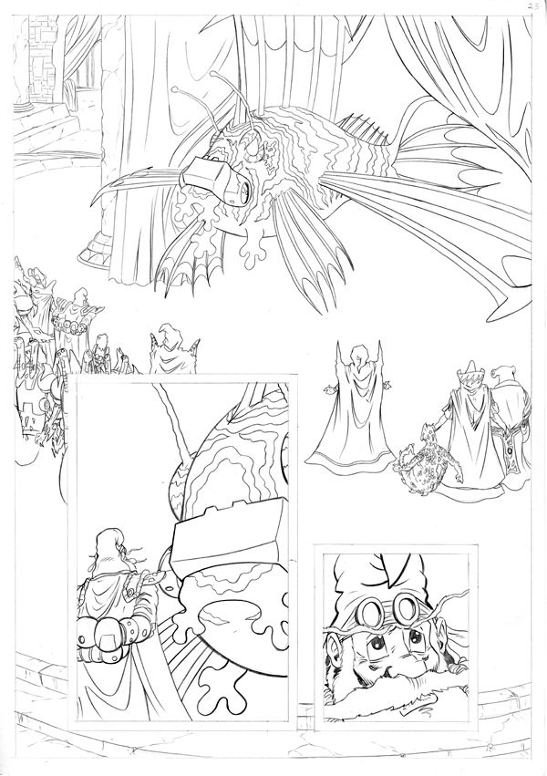 Worlds End Vol 1 Pencils Page 23