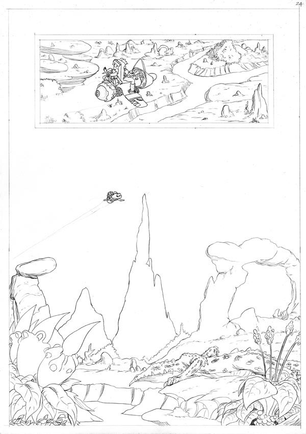 Worlds End Vol 1 Pencils Page 24