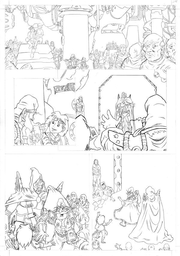 Worlds End Vol 1 Pencils Page 25