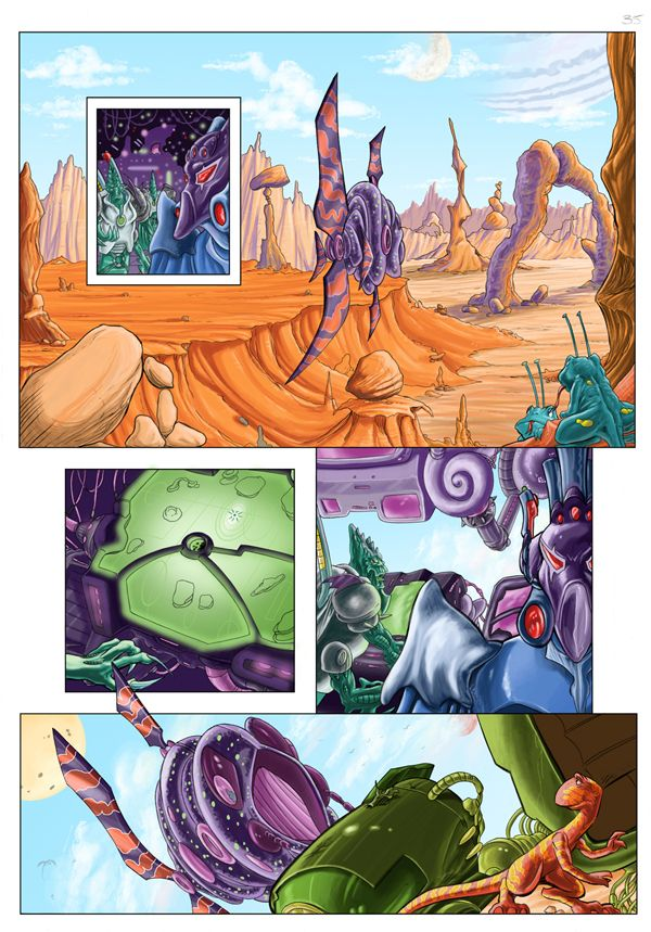 Worlds End Vol 01 GN Page 35