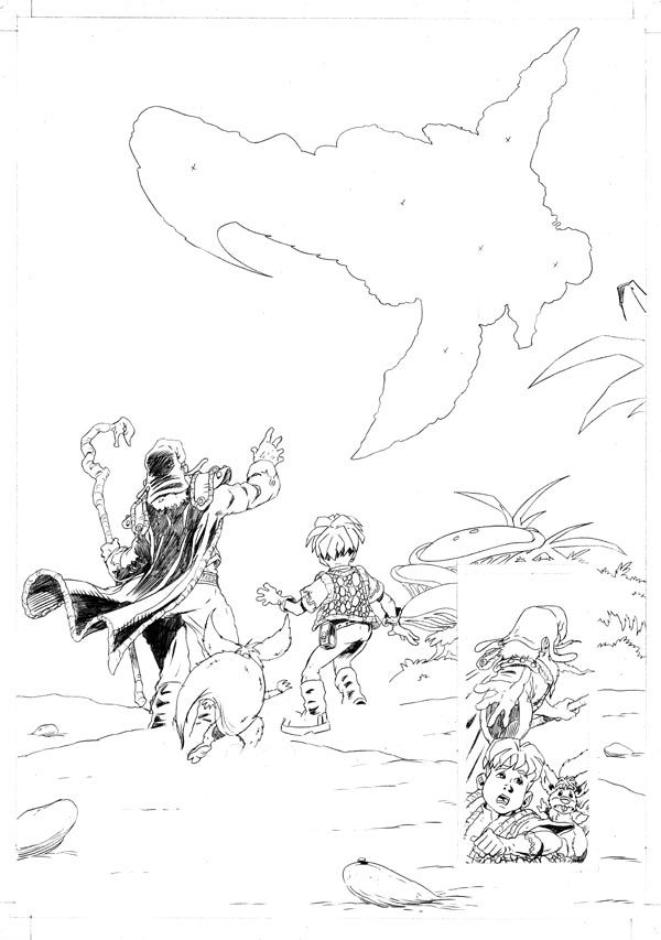 Worlds End Vol 1 Pencils Page 03
