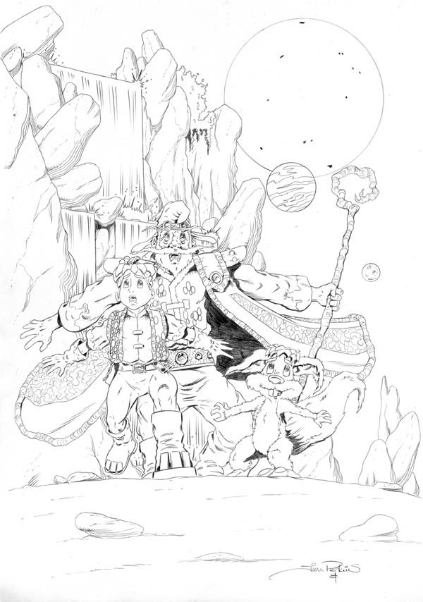 Worlds End Ashcan Back Cover Pencils